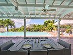 Callisto, 3BR vacation rental villa in Terres Basses, St Martin