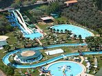 'Hydropolis' water park. Just 400 meters away from the villa.