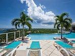 Acqua... 4+1BR vacation rental villa is Terres Basses, St Martin *******