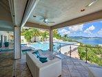 Acqua... 4+1BR vacation rental villa is Terres Basses, St Martin ******* 8555