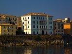 Old Corfu city. UNESCO protected monument