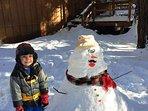 2015 Wakanda Cabin Snowman Entry