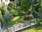 The biggest private garden in the area, one quiet oasis in the middle of the city...