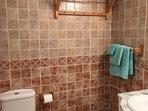 Baño principal con ducha