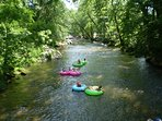 Tubing the Chattahoochee