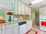 First Level Kitchen Area