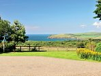 Fabulous panorama views across Newport Bay from Parc y Marriage