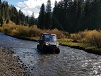 For an additional charge, our ATV's are available for guided treks into the nearby wilderness.