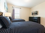 Two twin size beds suite