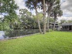 Plenty of yard space with lush grass for your pet or kids to play.