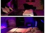 LOVE ROOM suite  à thème de 80 M2 avec Jacuzzi privatif   chambre atypique en voûte