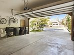 2 bikes available for guest use in this spacious townhome