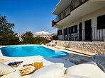 Swimming pool, Luxury villa Ivana, Split