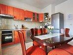 Dining room, kitchen, villa Ivana, Split