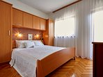 Bedroom, double bed, villa Ivana, Split