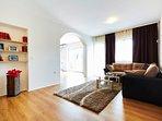 Living room, villa Ivana, Split