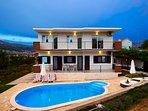 Front view, villa Ivana, Split
