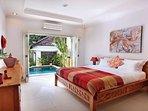 1 of 10 well decorated bedroom with en-suite bathroom