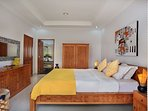 1 of 10 well decorated bedrooms / 4 of them with easy access to the pool