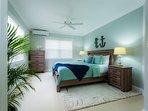 The Jus' Beachy  King Bedroom.