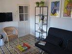2 eme étages,Chambre ou salon,canapé convertible confortable en 160