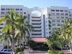 street view of th e hotel / Condominum