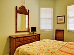 Fully furnished guest bedrooms