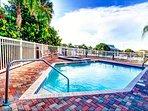 Harborview Grande harborside pool and deck