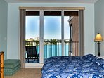Wake up to views of the beautiful waters of the harbor