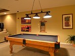 Rec room for Harborview Grande guests.