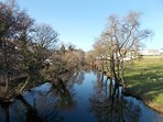 Spring time walks by the river,just a 2 minute drive from Casa Lerryn.