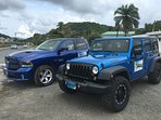 We have our own Jeep rental