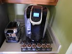 Keurig Coffee Maker with K-Cups