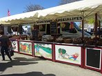 There is a huge monthly market at Les Herolles, on the 29th of the month.