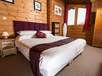 The Rosuel Suite is at the top of the Chalet and has the best views!