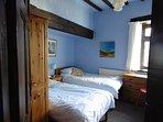 2nd bedroom - twin bedroom; 2 single, sleeps 2.