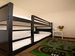 Bedroom with a bunkbed
