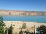 Freila beach, Lake Negratin