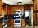 Upgraded appliances and countertops