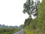 Road from Bealcourt to Auxi. It's a short drive or an easy bike ride to get your shopping.