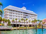 Dockside Condos directly on Clearwater Harbor