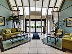 Beautiful lobby at 440 West.