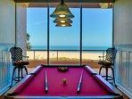 Crescent Beach Club billiards room
