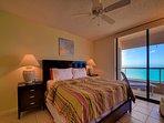 Master bedroom balcony access and en suite bathroom