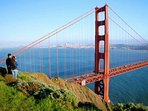 We are a quick 40 minute drive to the GG Bridge, into San Francisco.