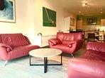 modern spacious lounge