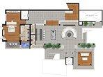 Villa Yang Som Phuket - Floor Plan