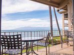 Great views of the neighbor islands from your lanai.