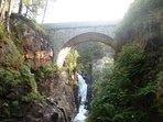 Le fameux Pont d'Espagne - Cauterets