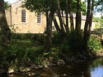 View of the chapel from the river